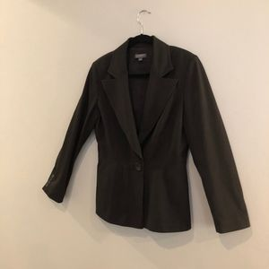 Black Classique Entier single- breasted blazer
